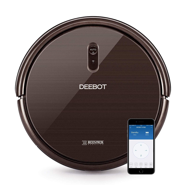 New Ecovacs DEEBOT N79S Robotic Vacuum Cleaner Alexa Hard Fl