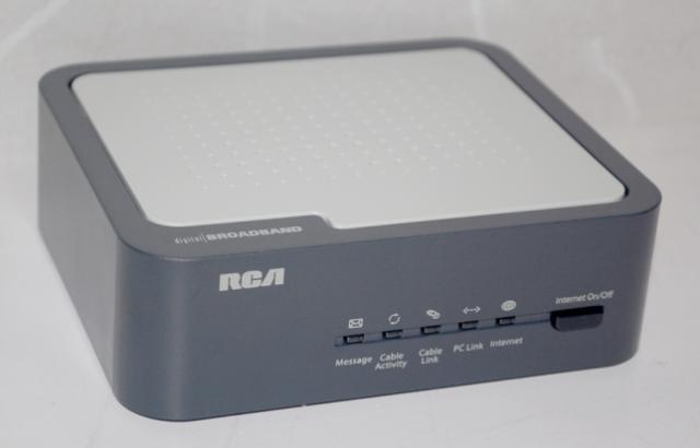 Thomson digital broadband cable modem