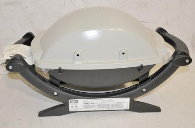 weber 386002 lp q 100 portable gas grill ebay. Black Bedroom Furniture Sets. Home Design Ideas