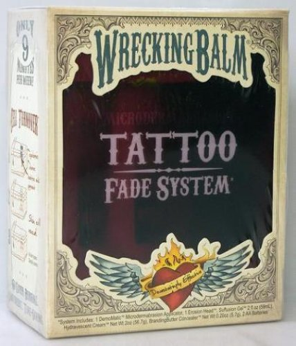 TATTOO FADE / REMOVAL . eBay.ph: WRECKING BALM TATTOO FADE SYSTEM BRAND NEW