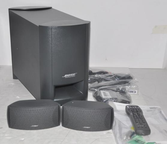 bose cinemate home theater speaker system 037487 ebay. Black Bedroom Furniture Sets. Home Design Ideas
