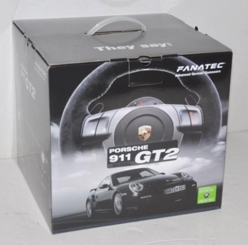 fanatec porsche 911 gt2 wheel for xbox 360. Black Bedroom Furniture Sets. Home Design Ideas