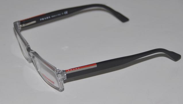Prada Clear Frame Glasses : PRADA GREY & CLEAR FRAMES EYEWEAR EYEGLASSES VPS10A eBay