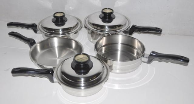 americraft kitchen craft cookware set ebay On kitchen craft pots and pans