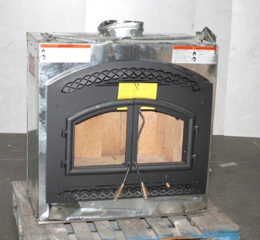 Heatilator Constitution 2 7 Cubic Ft Wood Burning Fireplace Insert Ebay