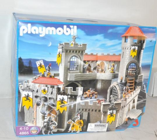 playmobil 4865 lion knights 39 castle ebay. Black Bedroom Furniture Sets. Home Design Ideas