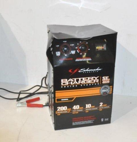 schumacher xc6 battery charger manual