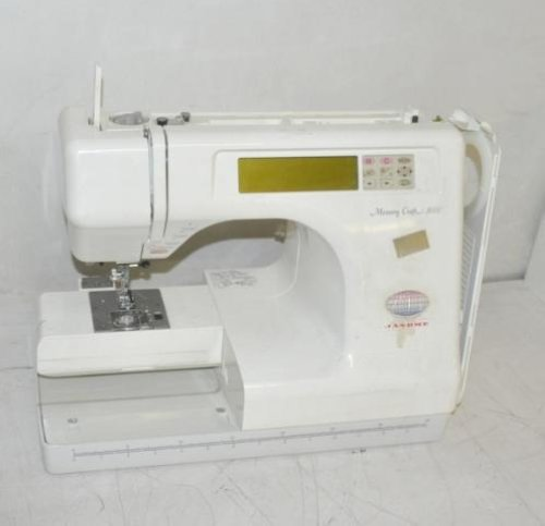 Janome memory craft 5000 embroidery sewing machine ebay for Janome memory craft 3000