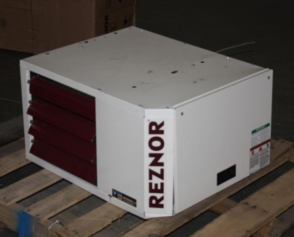 Reznor 75 000 Btu Natural Gas Fired Hanging Shop Garage