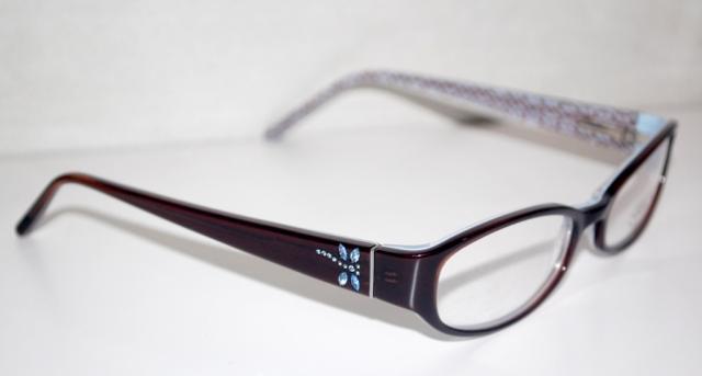Coach Eyeglass Frames Annabel 530 : Coach Brown Rhinestone Dragonfly Annabel Frames Eyewear ...