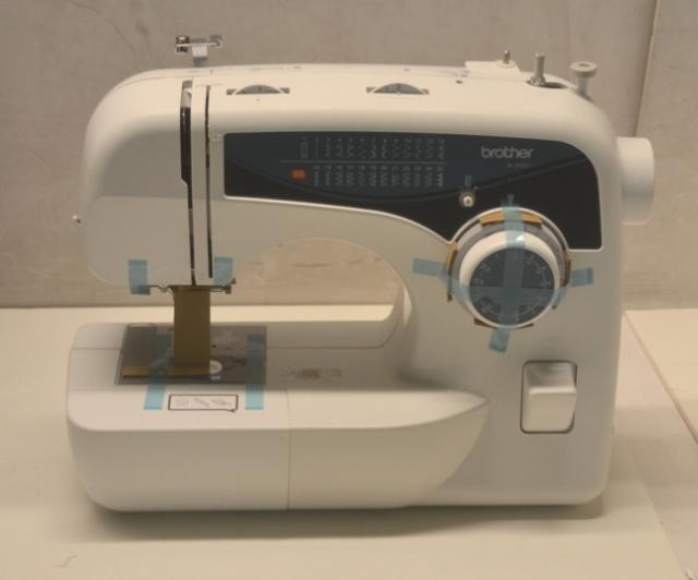Brother incredible free arm sewing machine xl 2600i for Machine a coudre xl 2600 brother