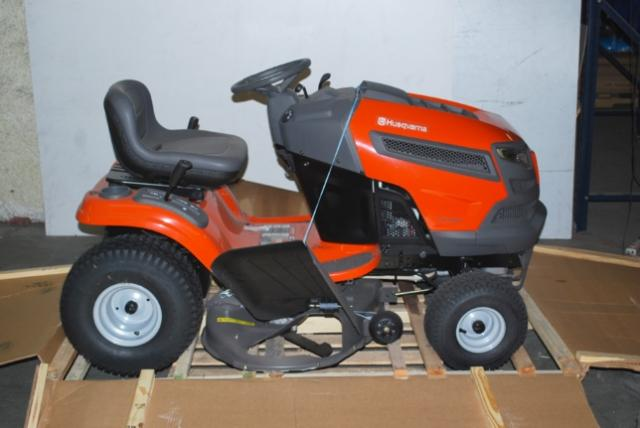 42 Husqvarna Garden Tractors : Husqvarna quot deck hp riding lawn mower yard tractor