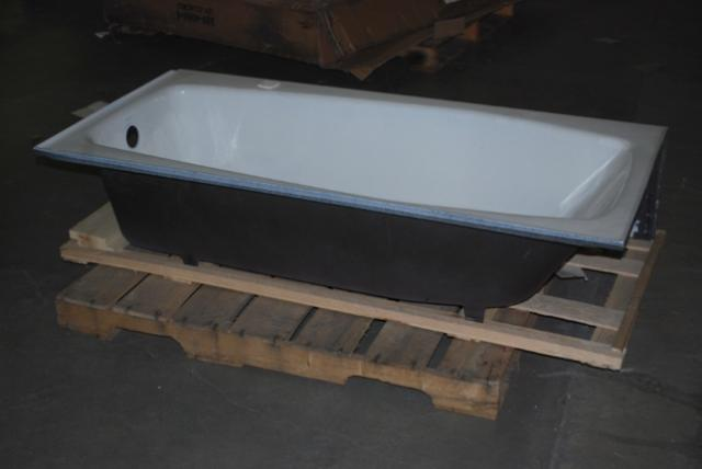 details about kohler white porcelain enamel cast iron bathtub