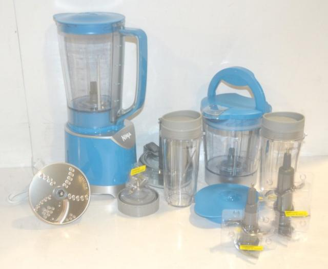 Ninja Kitchen System Pulse BL206QBL Blue Blender