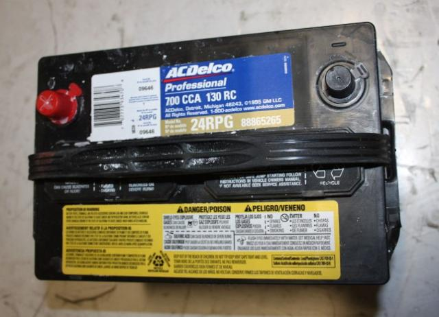 Acdelco Professional 700cca 130rc Automotive Car Battery