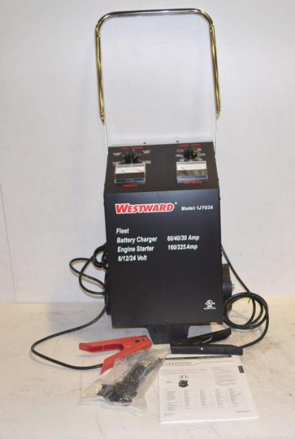 westward 1jyu3a engine starter battery charger 30 40 60 225 amp 6 12 24 volt ebay. Black Bedroom Furniture Sets. Home Design Ideas