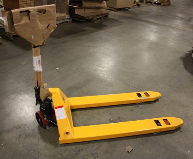 Vergo Industrial Yellow Hand Pallet Jack 5500 Lbs Ebay