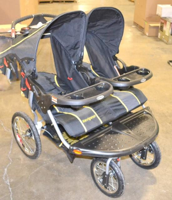 Baby Trend Sonic Navigator Double Jogging Stroller Ebay