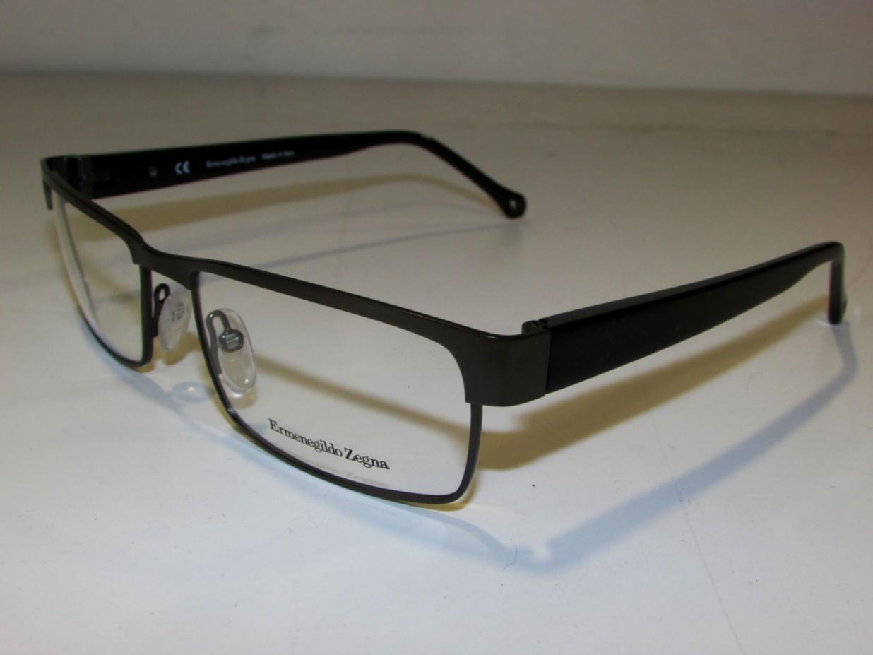 Zegna Eyeglass Frames : Ermenegildo Zegna Black Frames Eyewear Eyeglasses VZ3181