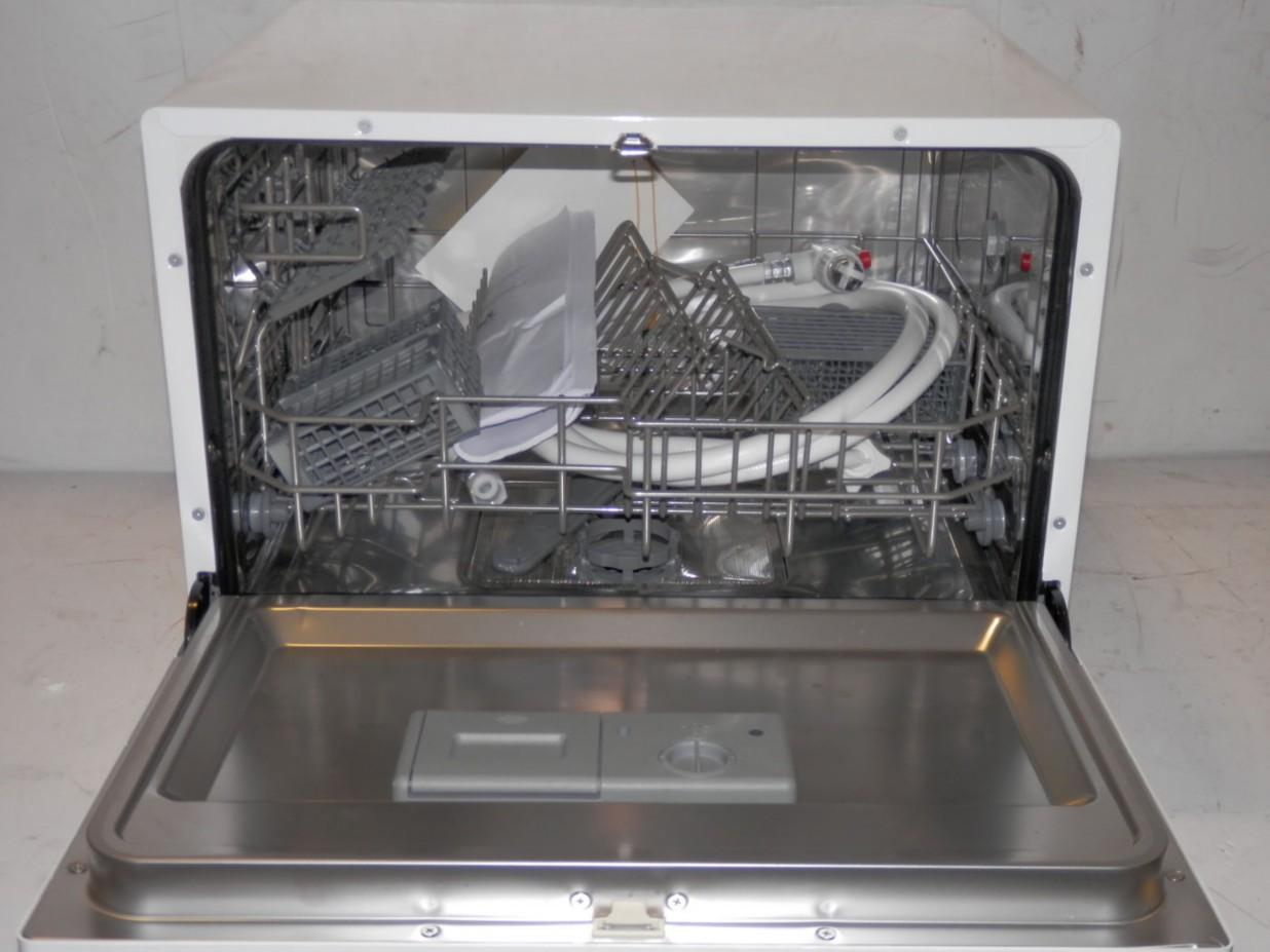 Magic Chef Countertop Dishwasher in White 6 Place Settings MCSCD6W3 ...