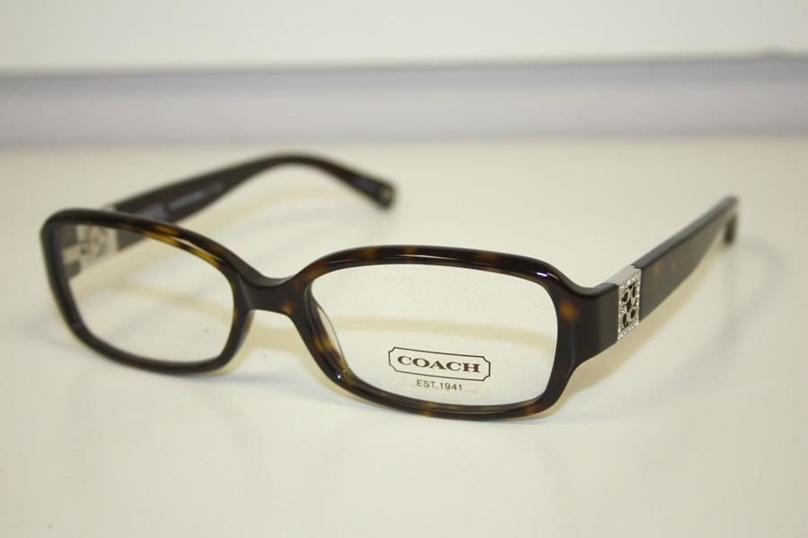 Coach Womens Gloria Dark Tortoise Frames Eyewear ...