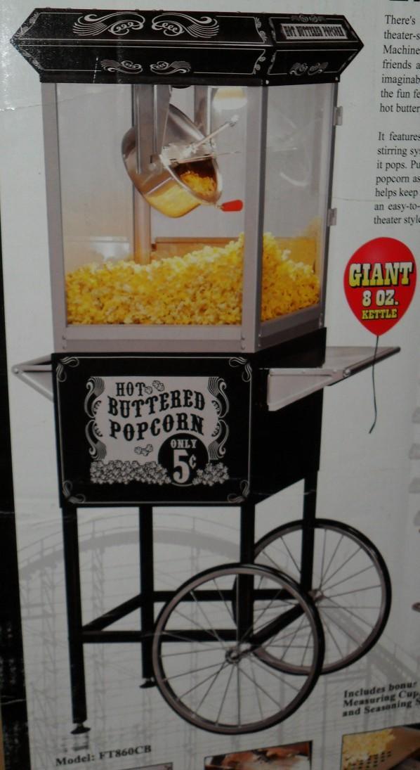 funtime carnival popcorn machine