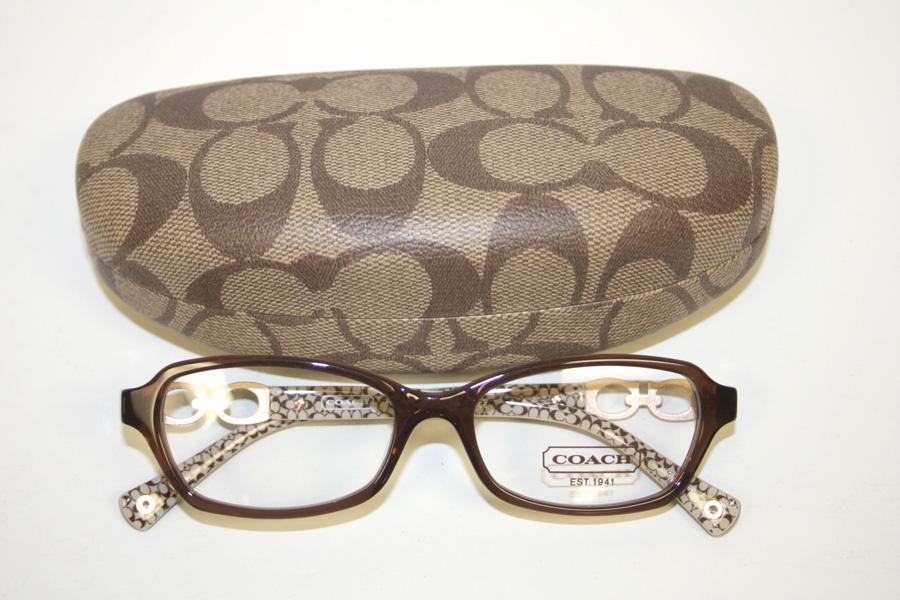 Coach Vanessa Eyeglass Frames : Coach Vanessa Womens Brown & Rose Gold Frames Eyewear ...