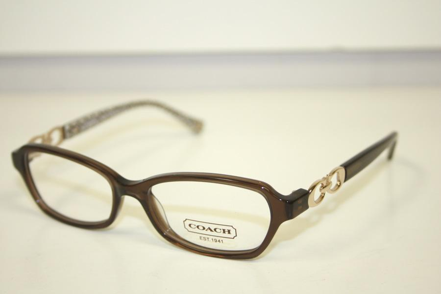 Coach Vanessa Womens Brown & Rose Gold Frames Eyewear ...