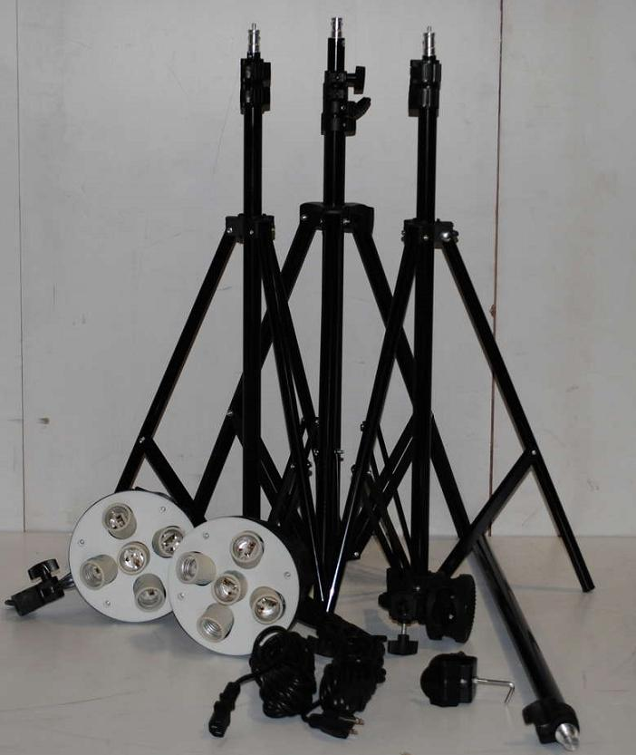 Cowboy Studio Lighting Kit Setup: Cowboy Studio 2275 Digital Video Continuous Lighting Kit