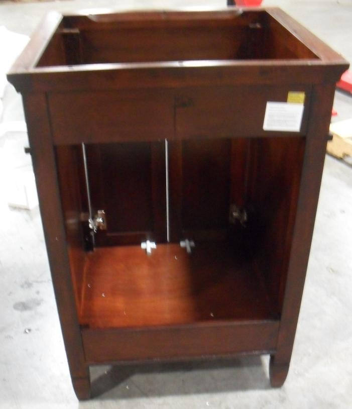Foremost 24 Inch Ashburn Mahogany Bathroom Vanity Cabinet