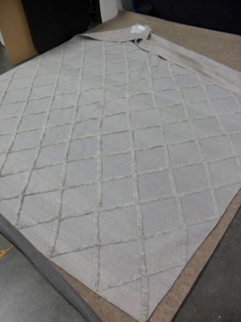 Restoration hardware 8 39 x 10 39 diamante flatweave grey for Restoration hardware rugs on sale