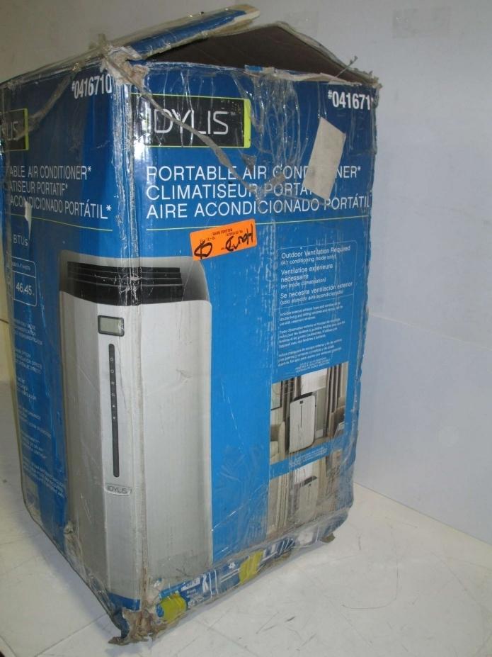 Idylis 0416710 Portable Air Conditioner Silver Black