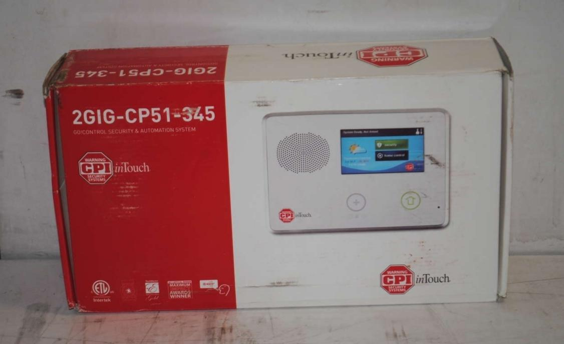 Cpi intouch 2gig cp51 345 go control security and for Cpi security intouch