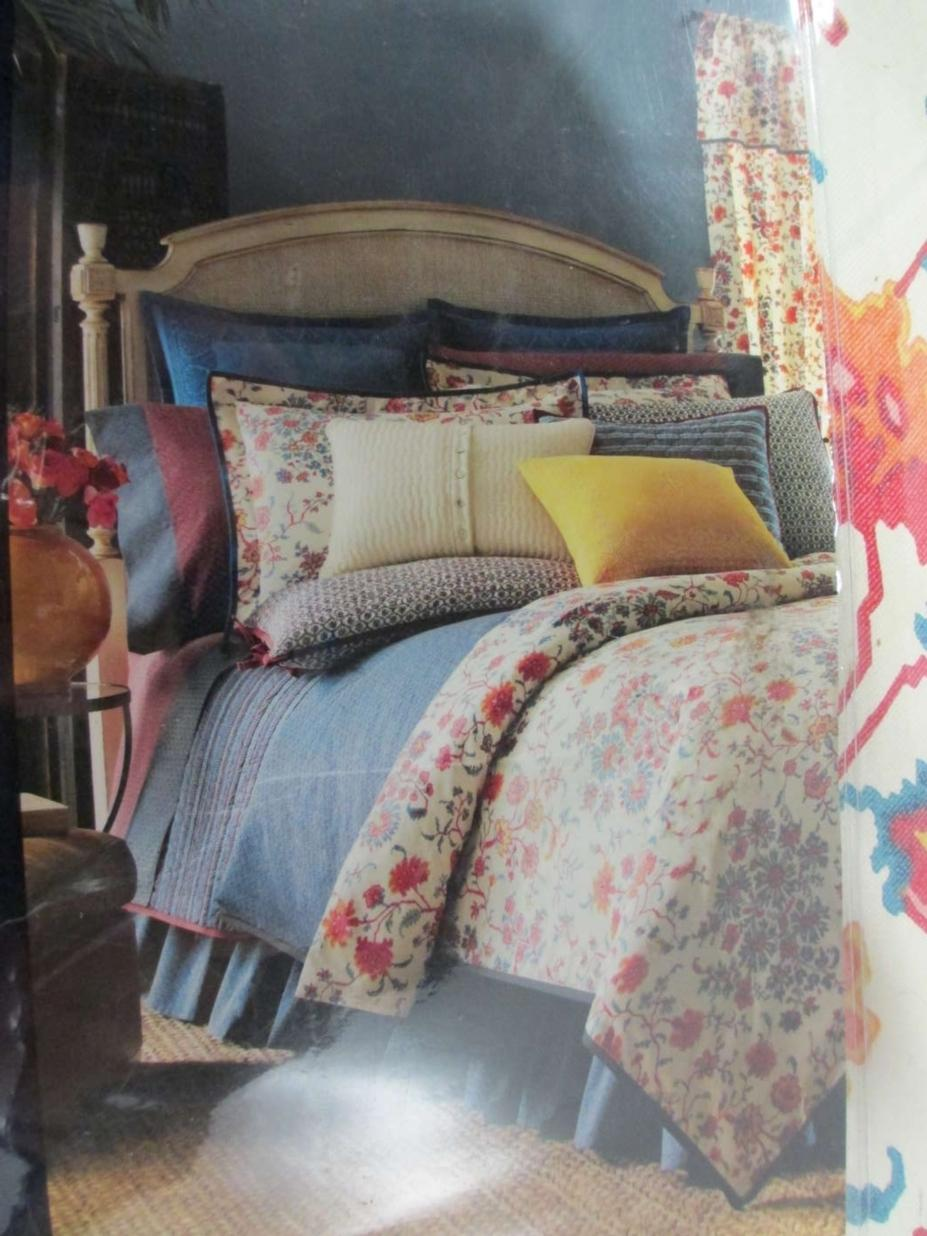 Chaps Home Morocco Collection Queen Comforter Set Ebay
