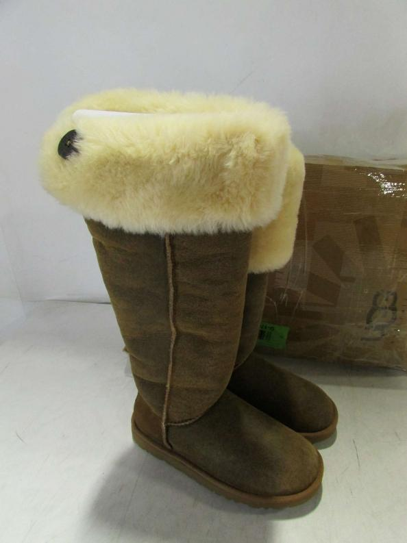 uggs bailey button bomber jacket chestnut