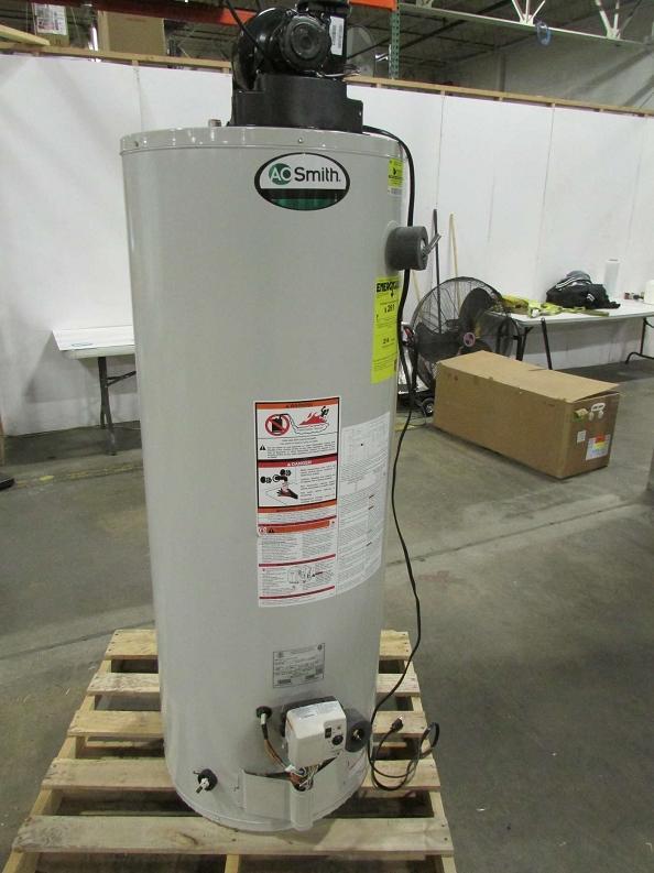 Gas Powered Ventilator : Ao smith gallon natural gas power vent water heater