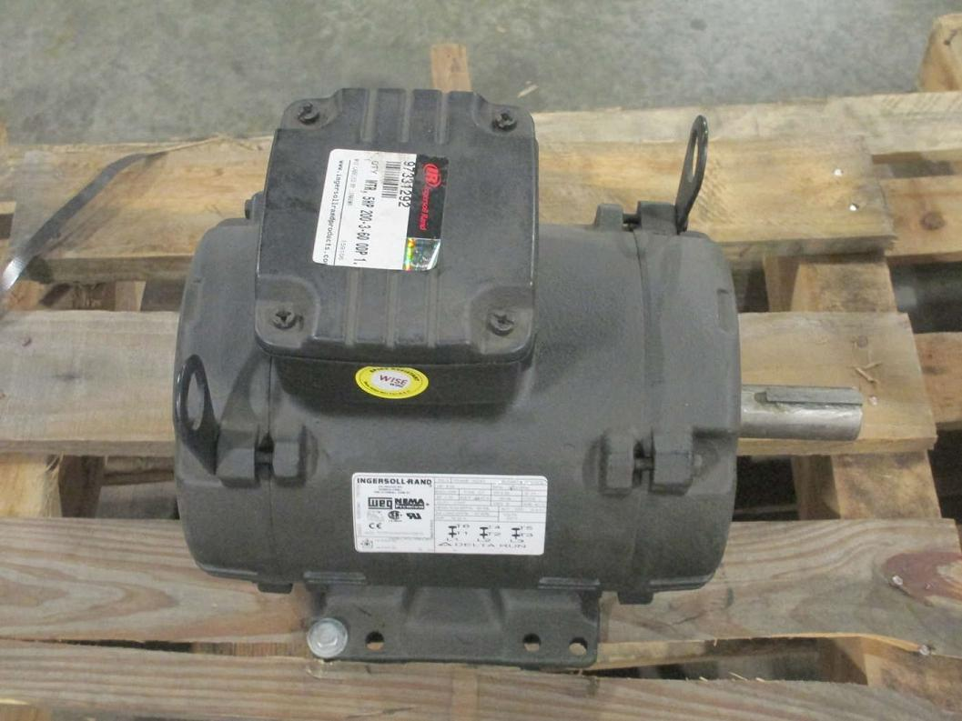 ingersoll rand 5hp air compressor motor 97331292 ebay