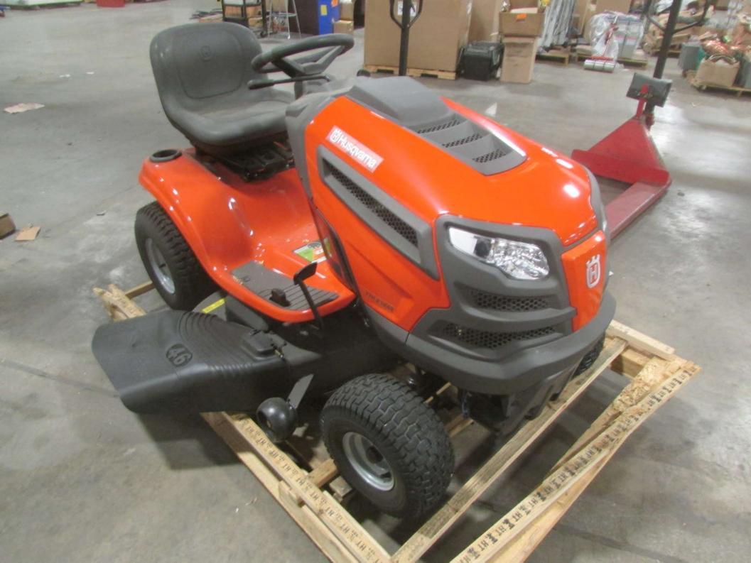 Hushavarna Lawn Tractor Hydrostatic Transmission : Husqvarna in hydrostatic riding lawn mower hp kohler