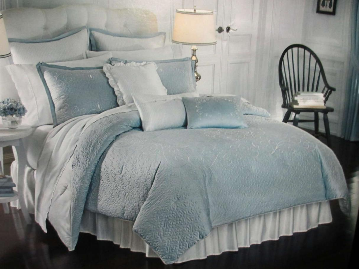 Lenox French Perle Full Comforter Set Ebay