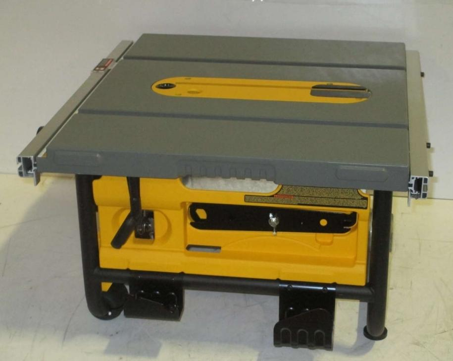 Dewalt 10 In Compact Table Saw Black Yellow Dwe7480 Ebay