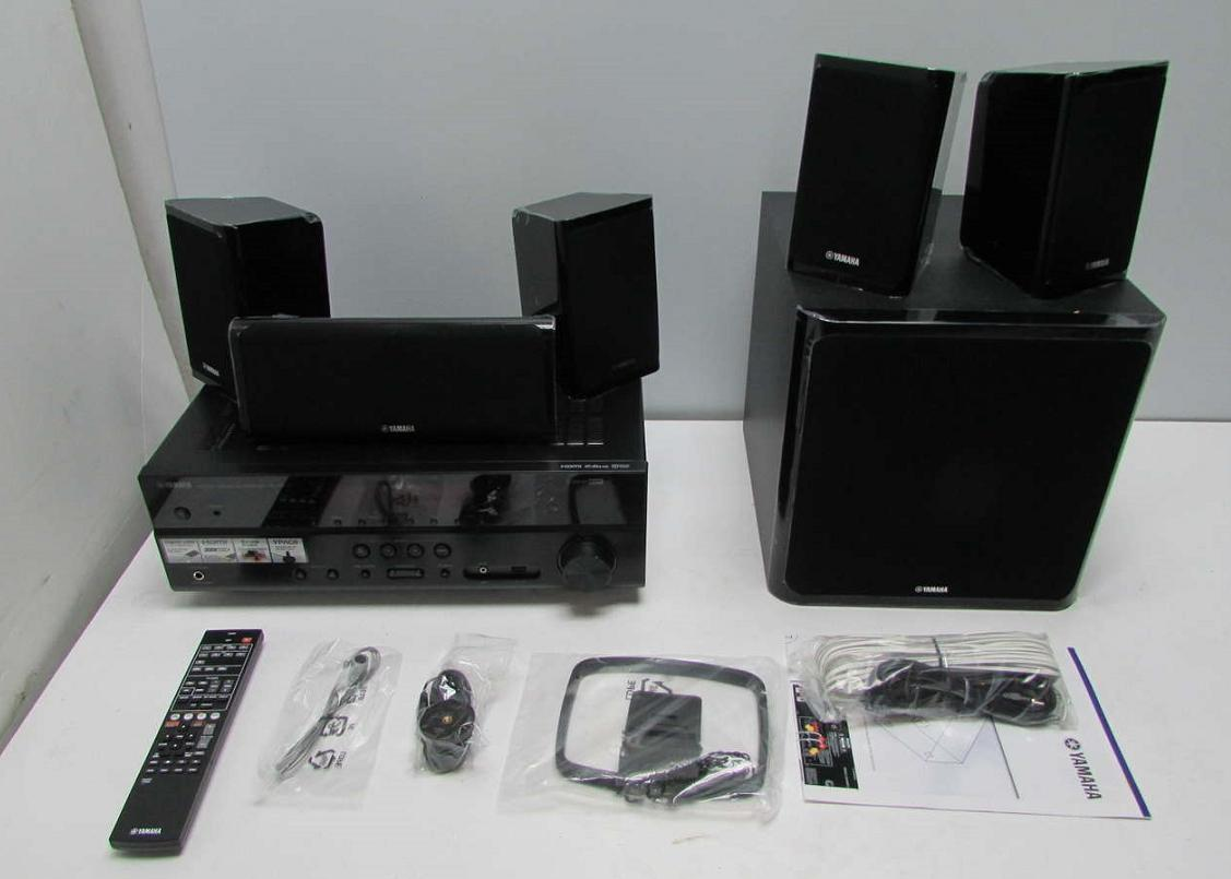 Yamaha home theater yht 4910ubl av receiver speakers and for Yamaha home theatre customer care number
