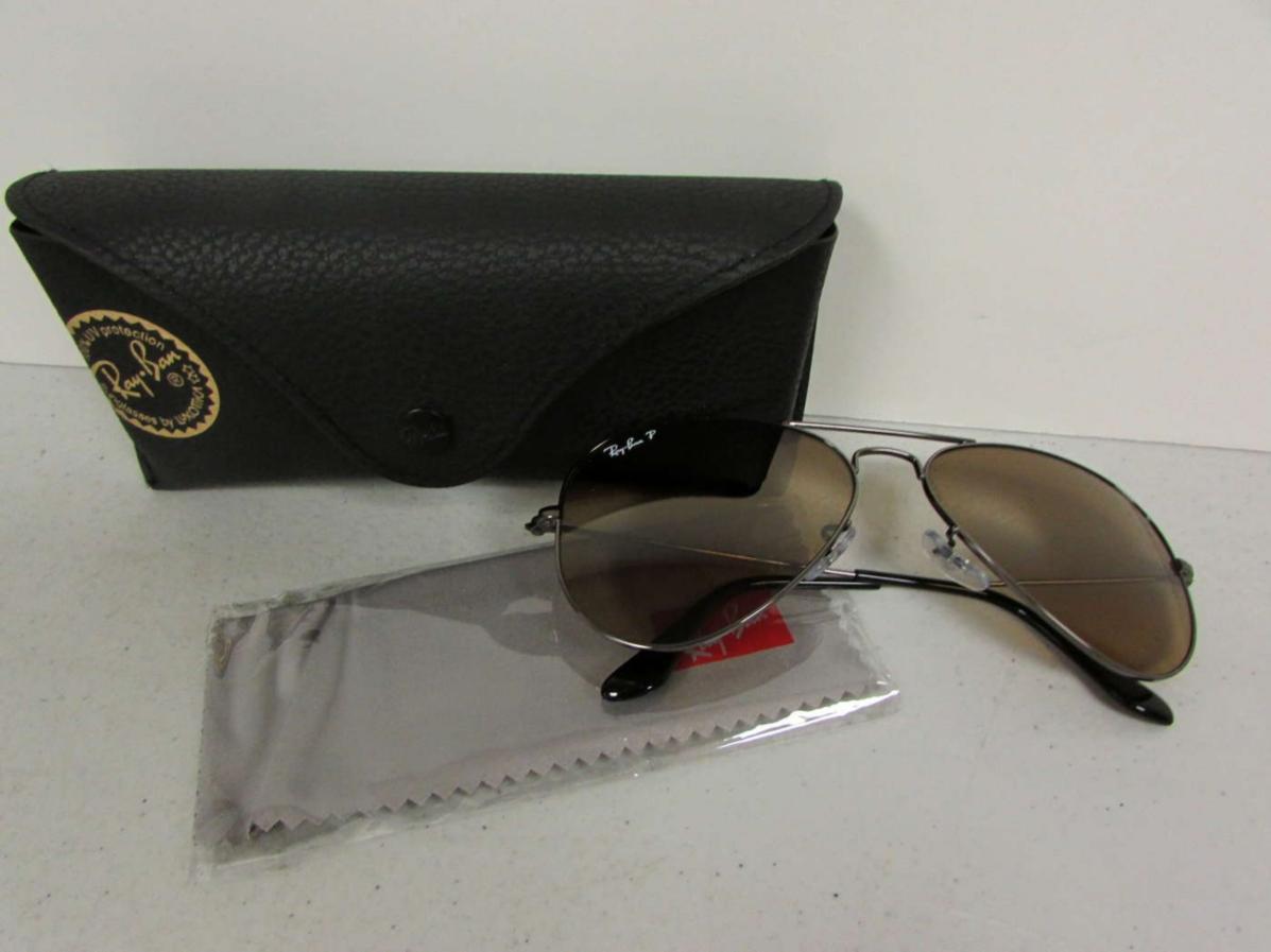 classic wayfarer 50mm polarized sunglasses  brown polarized