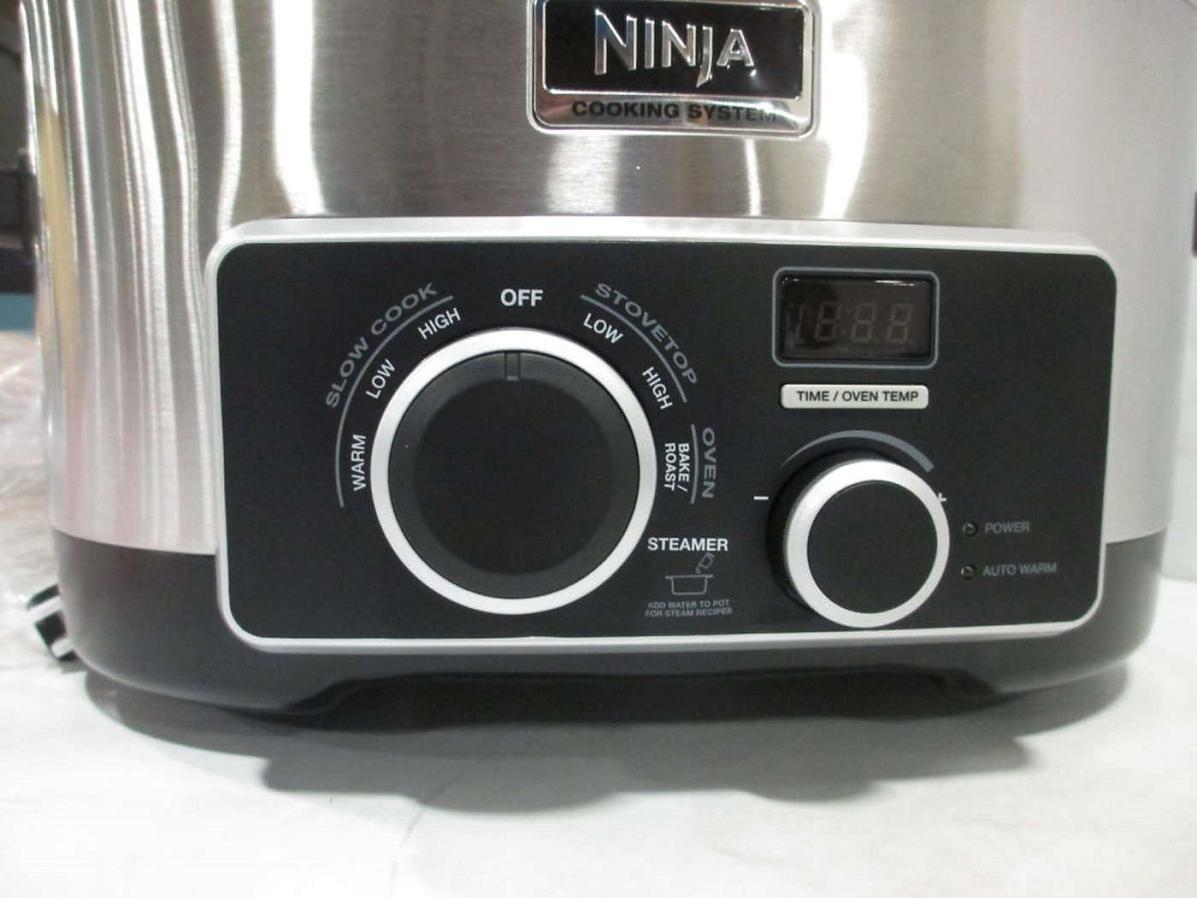 Ninja K41333 4 In 1 6 Qt Multi Cooker W Recipe Book