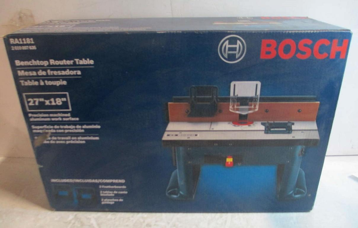 commercial router table