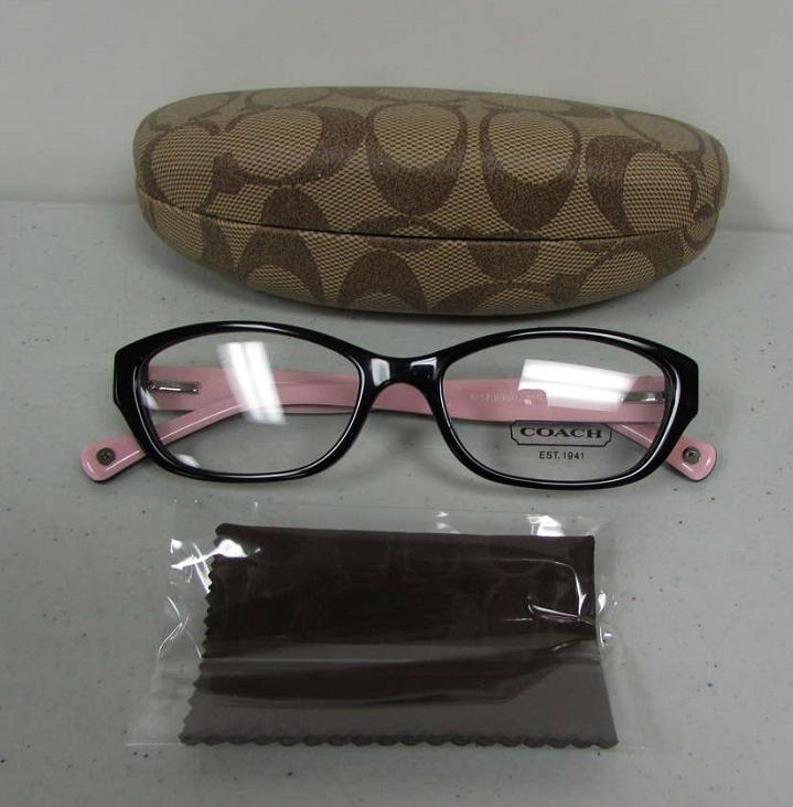 Coach Cecilia Womens Black & Pink Frames Eyewear ...