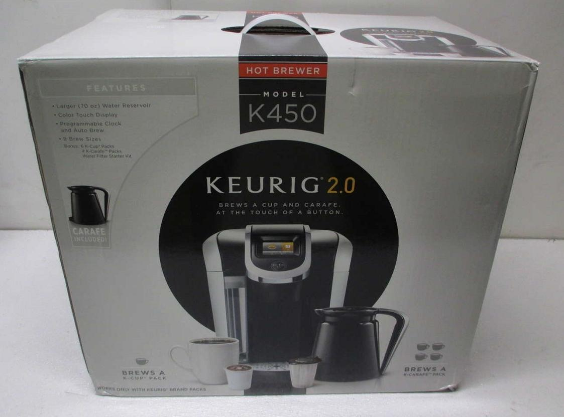 Keurig 2 0 Single Serve CUP Carafe Coffee Brewer K450 eBay