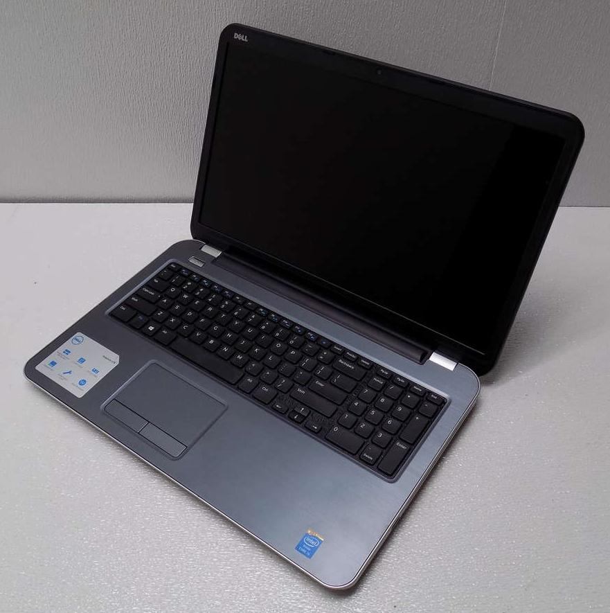 how to open a dell inspiron laptop