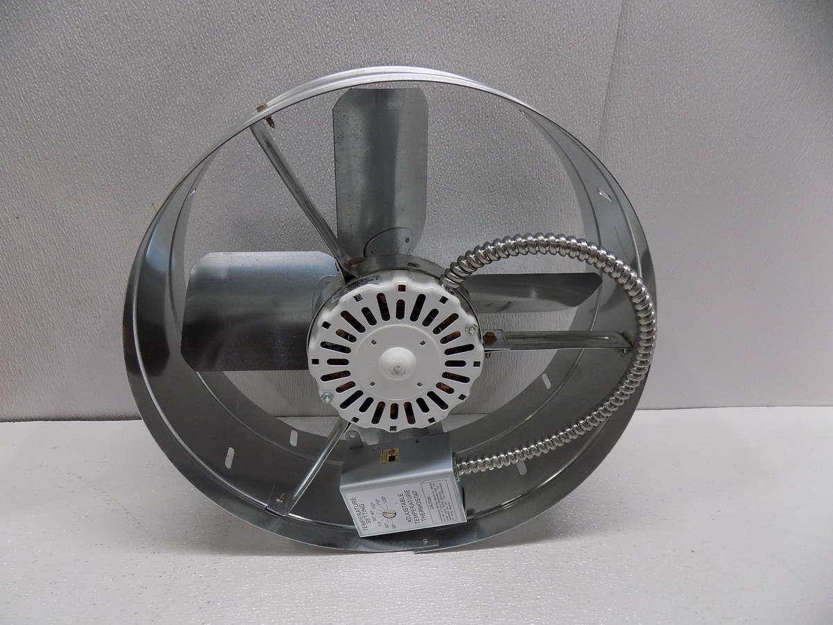 Exhaust Ventilator Pictorial : Cool attic cx gable mount exhaust ventilator fan