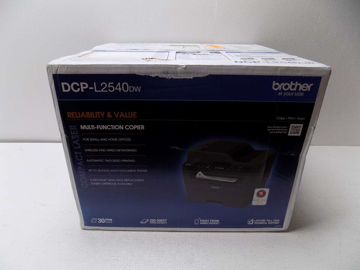 how to connect brother dcp l2540dw printer to wifi