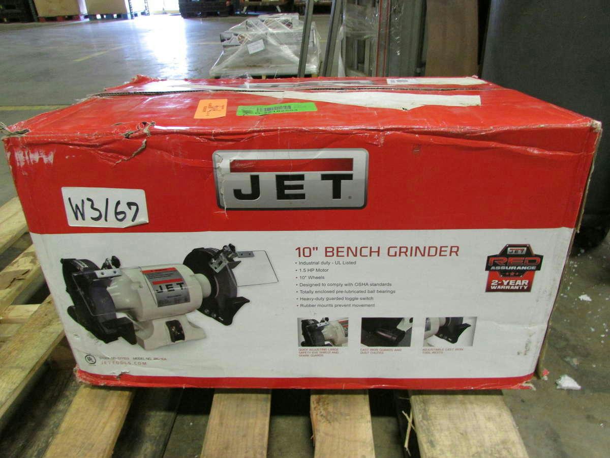 Jet 10 Quot Industrial Bench Grinder Jbg 10a Ebay